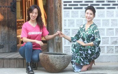 Friendship which lead to Korean culture and Global manners, Dr. Park Young-sil(Audrey Park) and Veronica Koon